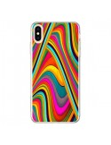 Coque iPhone XS Max Acid Vagues - Danny Ivan