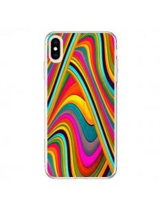 Coque iPhone XS Max Acid Vagues - Danny Ivan