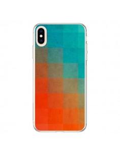 Coque iPhone XS Max Beach Pixel Surface - Danny Ivan