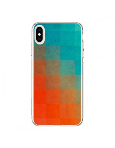 Coque iPhone XS Max Beach Pixel Surface - Danny Ivan