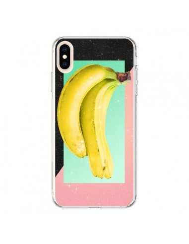 Coque iPhone XS Max Eat Banana Banane Fruit - Danny Ivan