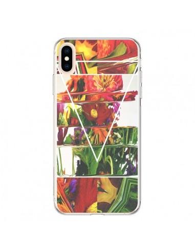 Coque iPhone XS Max Facke Flowers Fleurs - Danny Ivan