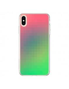 Coque iPhone XS Max Gradient Pixel - Danny Ivan