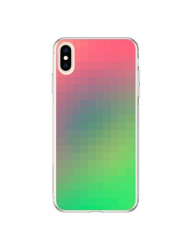 Coque iPhone XS Max Gradient Pixel - Danny Ivan