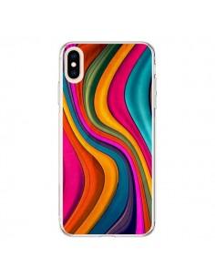 Coque iPhone XS Max Love Color Vagues - Danny Ivan
