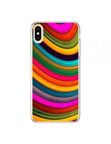 Coque iPhone XS Max More Curve Vagues - Danny Ivan