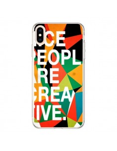 Coque iPhone XS Max Nice people are creative art - Danny Ivan