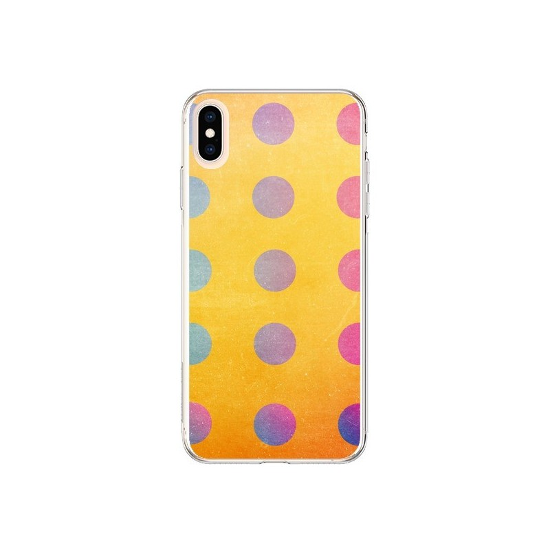 Coque iPhone XS Max Playing More Jeu Puissance 4 - Danny Ivan