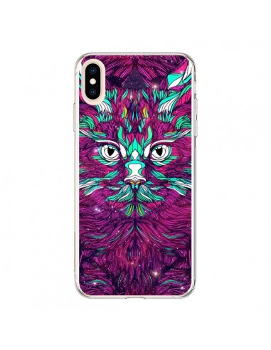 Coque iPhone XS Max Space Cat Chat espace - Danny Ivan