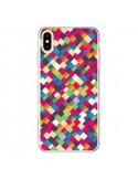 Coque iPhone XS Max Sweet Pattern Mosaique Azteque - Danny Ivan