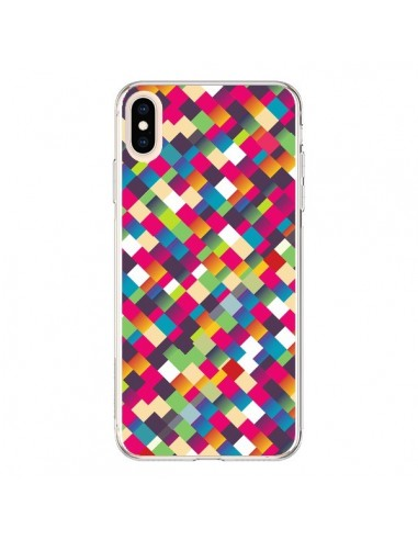 Coque iPhone XS Max Sweet Pattern Mosaique Azteque - Danny Ivan