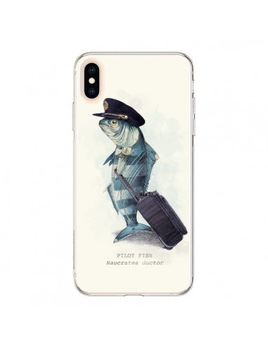Coque iPhone XS Max The Pilot Fish Poisson Pilote - Eric Fan