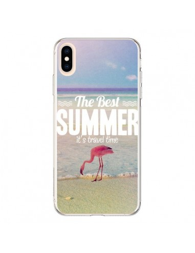 Coque iPhone XS Max Best Summer Eté - Eleaxart