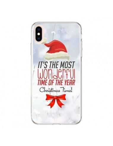Coque iPhone XS Max Joyeux Noël - Eleaxart