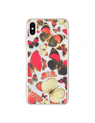 Coque iPhone XS Max Papillons - Eleaxart