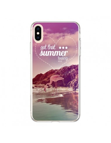 Coque iPhone XS Max Summer Feeling été - Eleaxart