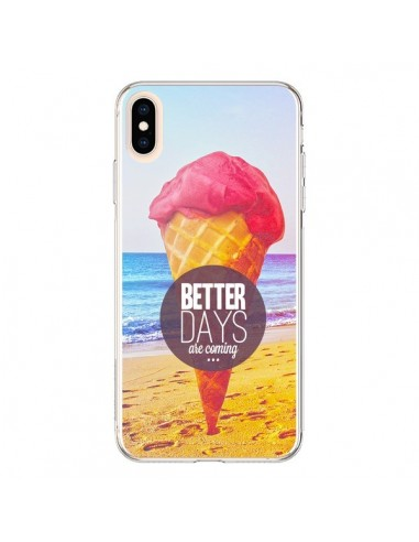 Coque iPhone XS Max Glace Ice Cream été - Eleaxart