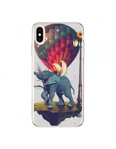 Coque iPhone XS Max Elephant Lfant - Eleaxart