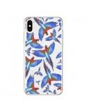Coque iPhone XS Max Perroquets Parrot - Eleaxart