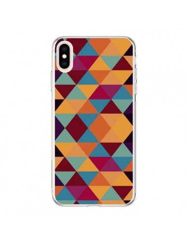 Coque iPhone XS Max Azteque Triangle...