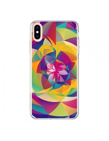 Coque iPhone XS Max Acid Blossom...