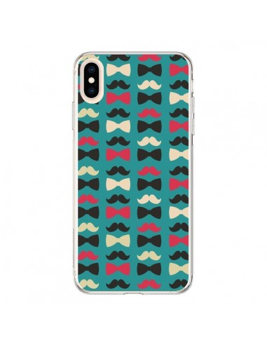 Coque iPhone XS Max Hipster Moustache...
