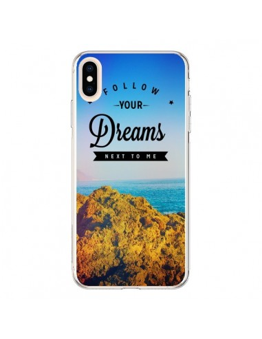 Coque iPhone XS Max Follow your...