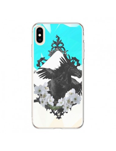 Coque iPhone XS Max Licorne Unicorn - Eleaxart