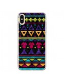 Coque iPhone XS Max Triangles Pattern Azteque - Eleaxart