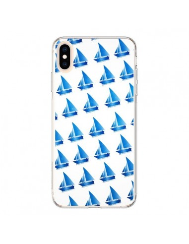 Coque iPhone XS Max Bateau Voilier Barquitos - Eleaxart