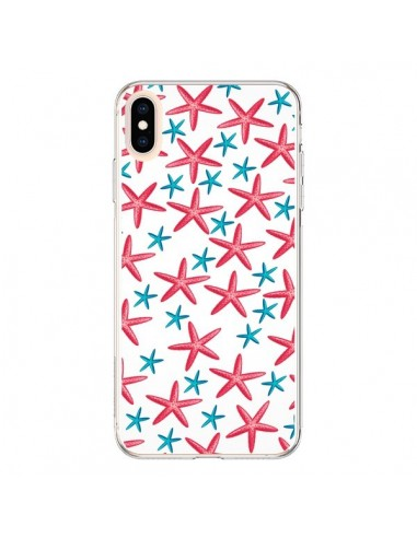 Coque iPhone XS Max Etoiles de mer...