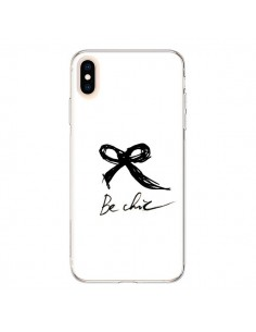 Coque iPhone XS Max Be Chic Noeud Papillon - Léa Clément