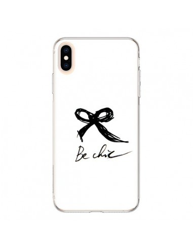 Coque iPhone XS Max Be Chic Noeud Papillon - Léa Clément