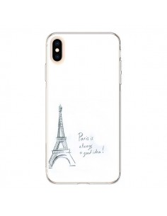 Coque iPhone XS Max Paris is always a good idea - Léa Clément