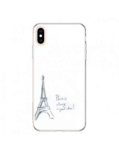 Coque iPhone XS Max Paris is always a...