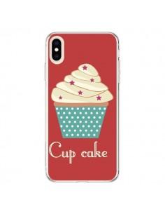 Coque iPhone XS Max Cupcake Creme - Léa Clément