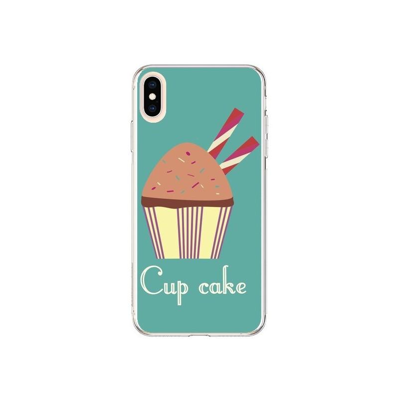 Coque iPhone XS Max Cupcake Chocolat...