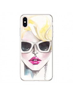 Coque iPhone XS Max Blonde Chic - Elisaveta Stoilova