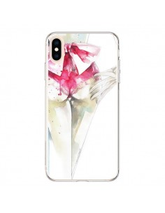 Coque iPhone XS Max Love is a Madness Femme - Elisaveta Stoilova