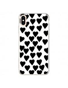 Coque iPhone XS Max Coeur Noir - Project M