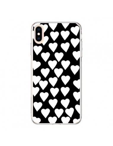 Coque iPhone XS Max Coeur Blanc - Project M