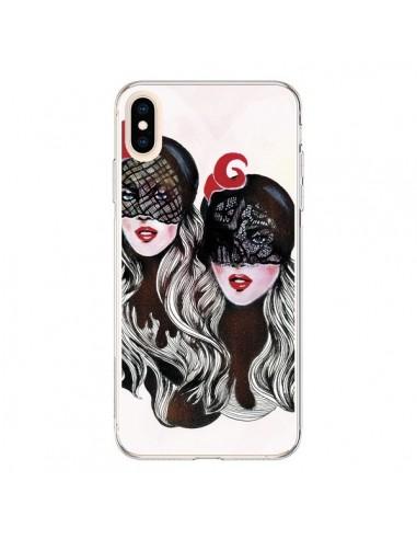 Coque iPhone XS Max Gemini Jumelles - Felicia Atanasiu