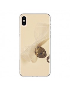 Coque iPhone XS Max Key to my heart Clef Amour - Irene Sneddon
