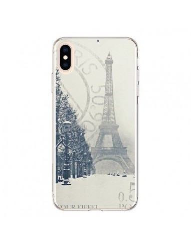 Coque iPhone XS Max Tour Eiffel - Irene Sneddon