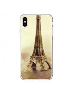 Coque iPhone XS Max Tour Eiffel Vintage - Irene Sneddon