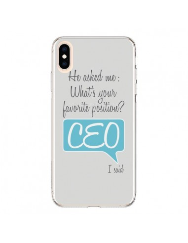 Coque iPhone XS Max What's your...