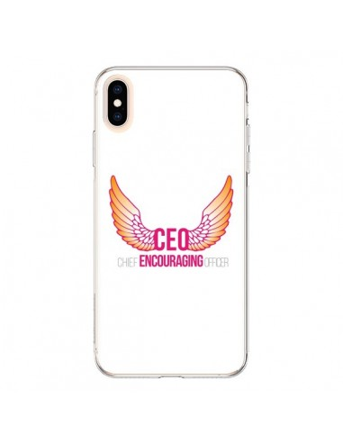 Coque iPhone XS Max CEO Chief Encouraging Officer Rose - Shop Gasoline