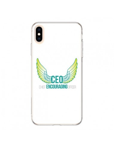 Coque iPhone XS Max CEO Chief Encouraging Officer Vert - Shop Gasoline