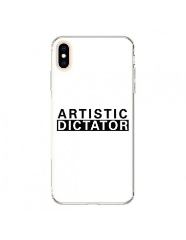 Coque iPhone XS Max Artistic Dictator Black - Shop Gasoline