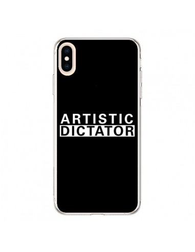 Coque iPhone XS Max Artistic Dictator White - Shop Gasoline